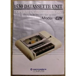 Commodore 1530 Datassette Unit C2N: Instructions