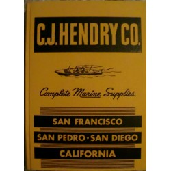 C. J. Hendry Co.: Complete Marine Supplies - California (1945)