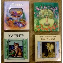 4 x Små og koselige utbettsbøker