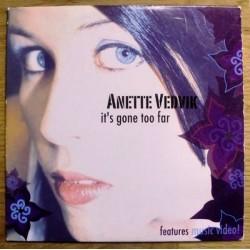 Anette Vedvik: It's Gone Too Far
