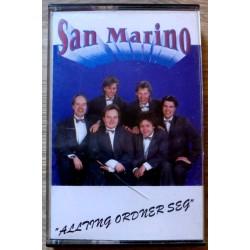 San Marino: Allting ordner seg