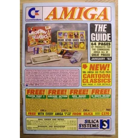 Amiga: Silica Systems Catalogue - January 1992
