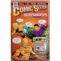 Amiga: Comicsetter: Full 132 Page Manual