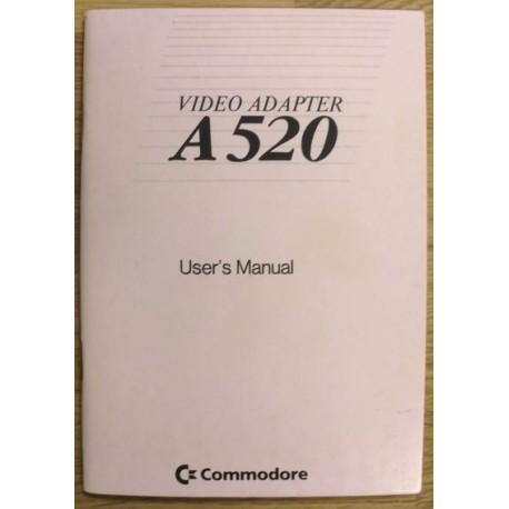 Amiga: A520 Video Adapter: User's Manual
