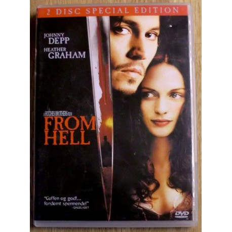 From Hell: 2-Disc Special Edition