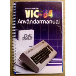 Commodore VIC-20: Användarmanual