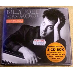 Billy Joel Greatest Hits: 3 CD Box