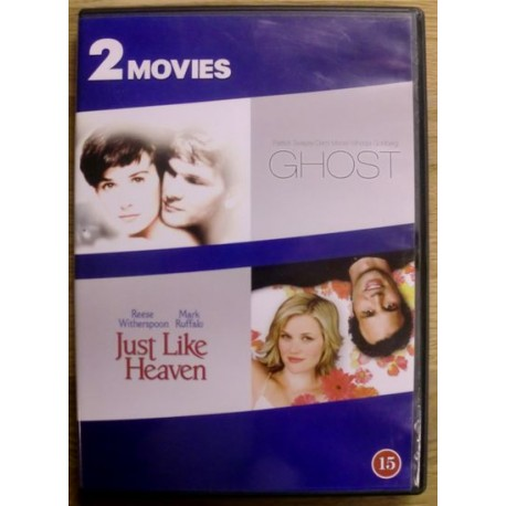 2 Movies: Ghost & Just Like Heaven