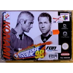 Nintendo 64: International Superstar Soccer 08 (Konami)