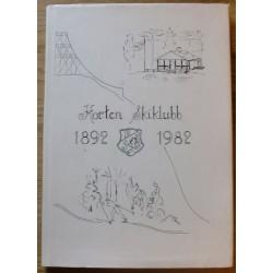 Rolf Baggethun: Horten skiklubb gjennom 90 år - 1892 - 1982