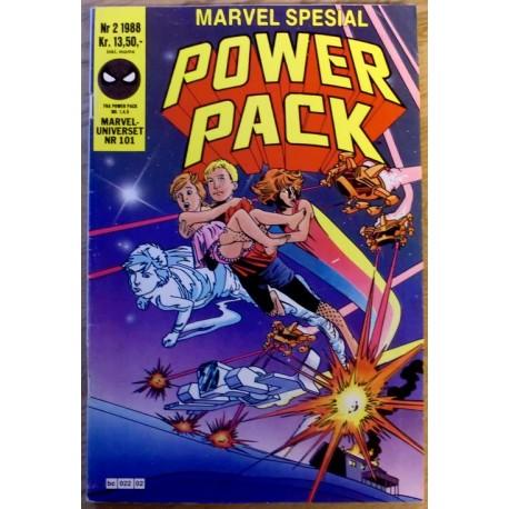 Marveluniverset: 1988 - Nr. 2 - Power Pack