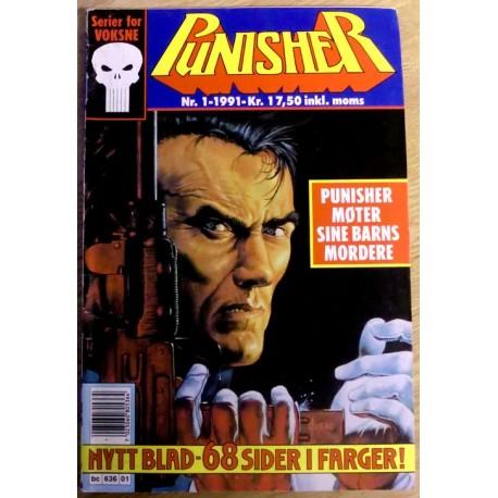 Punisher: 1991 - Nr. 1 - Punisher møter sine barns mordere