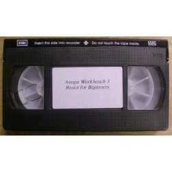 Amiga: Amiga Workbench 3: Basics for Beginners VHS