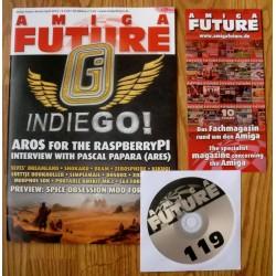 Datablad: Amiga Future: Mars/April 2016 - Nr. 119 med CD