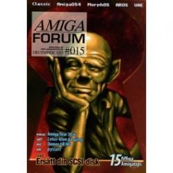Datablad: Amiga Forum: Nr. 15 - 2015 - December