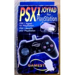 Gamester PSX1 Joypad i eske