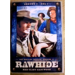 Rawhide: Sesong 2 - Del 1 - Med Clint Eastwood!