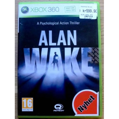 Xbox 360: Alan Wake - A Psychological Action Thriller