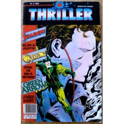 Thriller: 1990 - Nr. 5 - Shadow, Question og Green Arrow