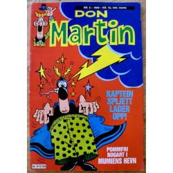 Don Martin: 1989 - Nr. 5 - Kaptein Splætt lader opp!