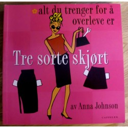 Anna Johnson: Tre sorte skjørt