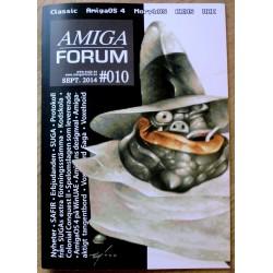 Datablad: Amiga Forum: Nr. 10 - 2014 - September