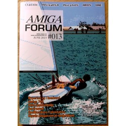 Datablad: Amiga Forum: Nr. 13 - 2015 - Juni