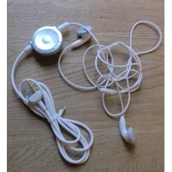 Sony PSP: Lekre hvite høretelefoner