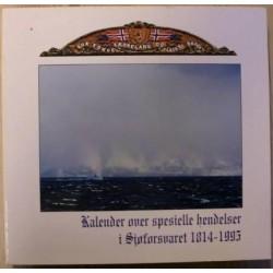 Kalender over spesielle hendelser i Sjøforsvaret 1814-1995