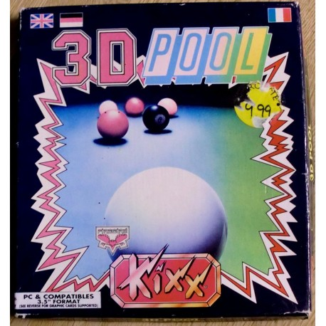 3D Pool (Firebird / Kixx)