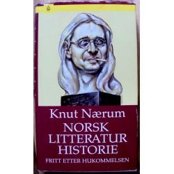 Knut Nærum: Norsk litteraturhistorie fritt etter hukommelsen