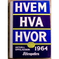 Hvem Hva Hvor: 1964