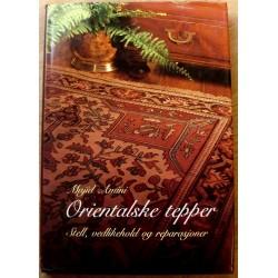 Orientalske tepper: Stell, vedlikehold og reparasjoner