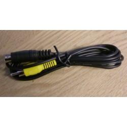 Kabel: S-Video 9 pin til RCA male
