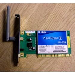 Nettverkskort: D-Link: AirPlus G - DWL-G510 - Trådløst (PCI)
