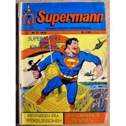 Supermann: 1970 - Nr. 21 - Supermann som King Kong