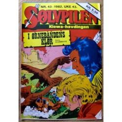 Sølvpilen: 1982 - Nr. 43 - I ørnebandens klør