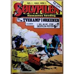 Sølvpilen: 1982 - Nr. 1 - Tvekamp i ørkenen
