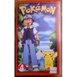Pokemon: Nr. 4 - Veien til Pokemon-ligaen (VHS)