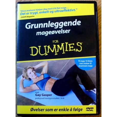 Grunnleggende mageøvelser for dummies