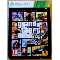 Xbox 360: Grand Theft Auto V / 5: Special Edition
