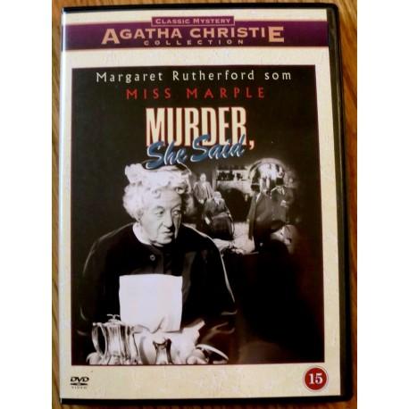 Agatha Christie Collection: Miss Marple: Murder, She Said