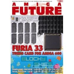 Datablad: Amiga Future: September/Oktober 2016 - Nr. 122 med CD