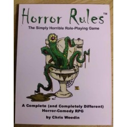 Horror Rules: The Simply Horrible Role-Playing Game