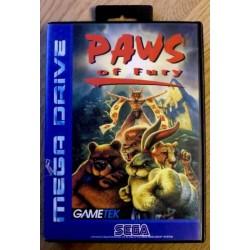SEGA Mega Drive: Paws of Fury (Gametek)
