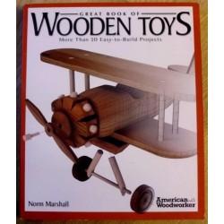 Great Book of Wooden Toys - Treleker