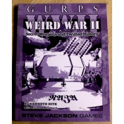 GURPS WWII Weird War II by Steve Jackson Games