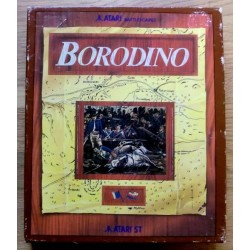 Borodino - Atari Battlescapes - Med poster!