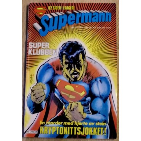 Supermann: 1981 - Nr. 6 - Kryptonittsjokket!