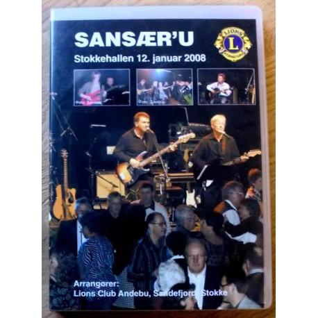 SANSÆR'U - Stokkehallen 2008 - Danseband live (DVD)